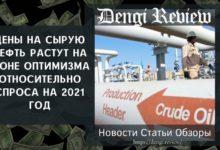 Photo of Цены на сырую нефть растут на фоне оптимизма относительно спроса на 2021 год